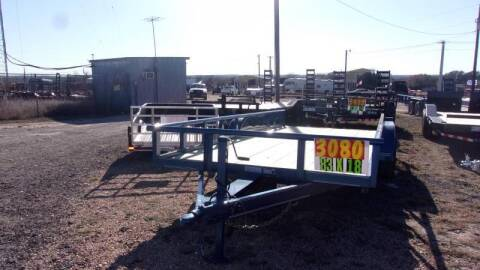 2020 VAR Trailers 83X18' for sale at LJD Sales in Lampasas TX