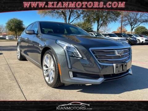2016 Cadillac CT6 for sale at KIAN MOTORS INC in Plano TX