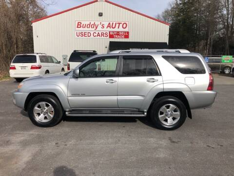 2004 Toyota 4Runner for sale at Buddy's Auto Inc in Pendleton SC