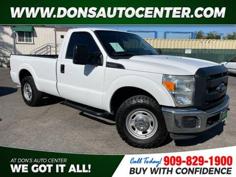 2013 Ford F-250 Super Duty for sale at Dons Auto Center in Fontana CA