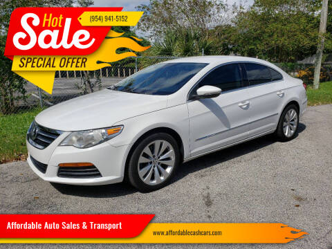 2012 Volkswagen CC for sale at Affordable Auto Sales & Transport in Pompano Beach FL