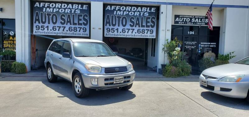 2002 Toyota RAV4 for sale at Affordable Imports Auto Sales in Murrieta CA