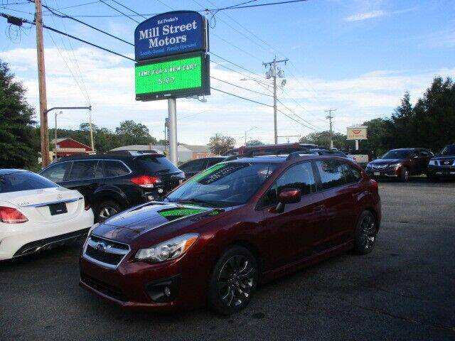 2012 Subaru Impreza for sale at Mill Street Motors in Worcester MA