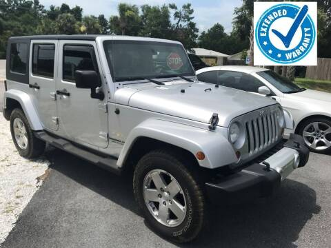 2009 Jeep Wrangler Unlimited for sale at Gulf Financial Solutions Inc DBA GFS Autos in Panama City Beach FL