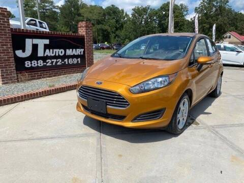 2016 Ford Fiesta for sale at J T Auto Group in Sanford NC