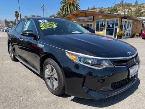 2018 Kia Optima Hybrid for sale at MISSION AUTOS in Hayward CA