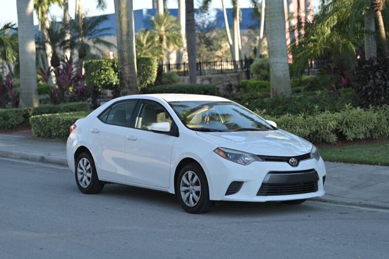 2016 Toyota Corolla for sale at EURO STABLE in Miami FL