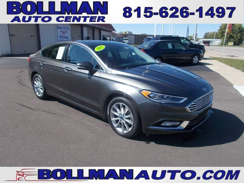 2017 Ford Fusion for sale at Bollman Auto Center in Rock Falls IL