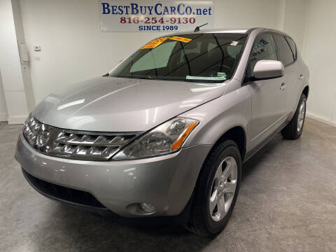 2005 Nissan Murano for sale at Best Buy Car Co in Independence MO