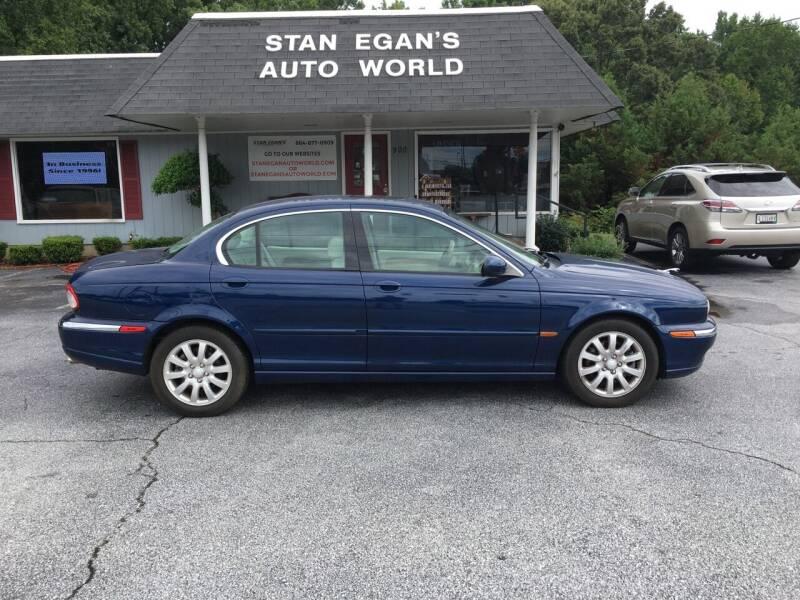 2003 Jaguar X-Type for sale at STAN EGAN'S AUTO WORLD, INC. in Greer SC