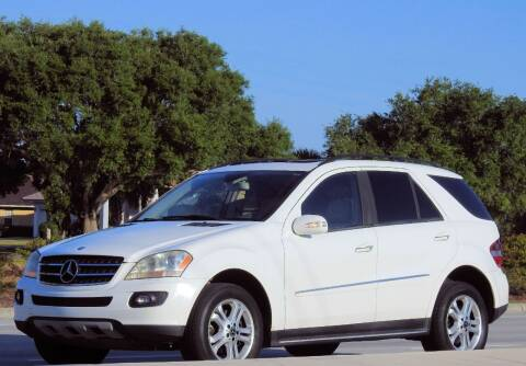 2007 Mercedes-Benz M-Class for sale at M.D.V. INTERNATIONAL AUTO CORP in Fort Lauderdale FL