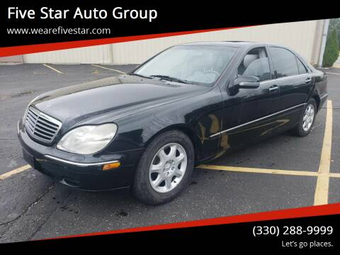 2000 Mercedes-Benz S-Class for sale at Five Star Auto Group in North Canton OH