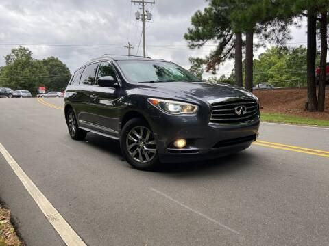 2014 Infiniti QX60 for sale at THE AUTO FINDERS in Durham NC