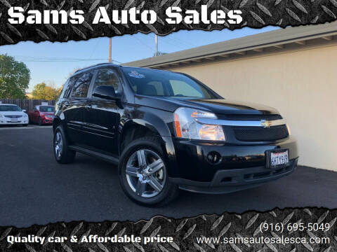 2009 Chevrolet Equinox for sale at Sams Auto Sales in North Highlands CA