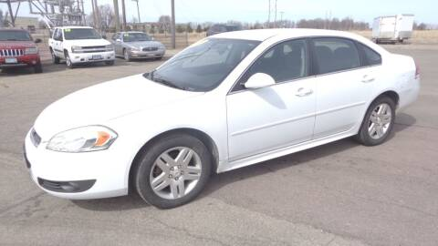 2011 Chevrolet Impala for sale at Salmon Automotive Inc. in Tracy MN