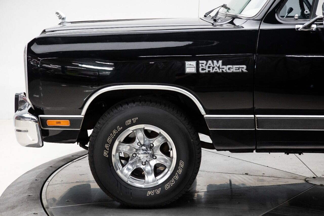 1989 Dodge Ramcharger 16