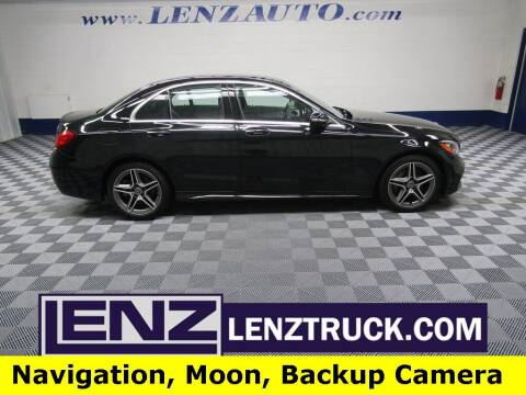2020 Mercedes-Benz C-Class for sale at LENZ TRUCK CENTER in Fond Du Lac WI