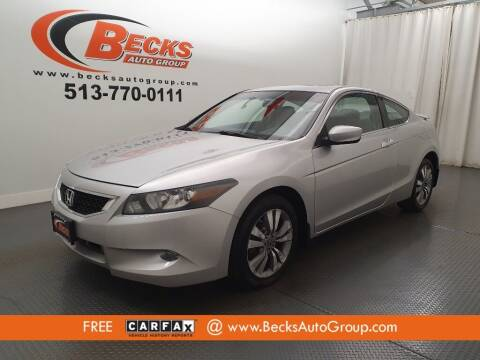 2009 Honda Accord for sale at Becks Auto Group in Mason OH