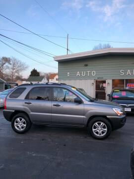 2007 Kia Sportage for sale at SHEFFIELD MOTORS INC in Kenosha WI