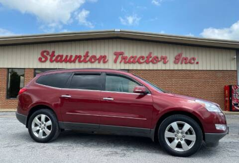 2011 Chevrolet Traverse for sale at STAUNTON TRACTOR INC in Staunton VA