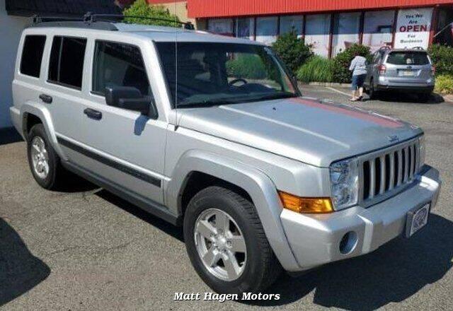 2006 Jeep Commander for sale at Matt Hagen Motors in Newport NC