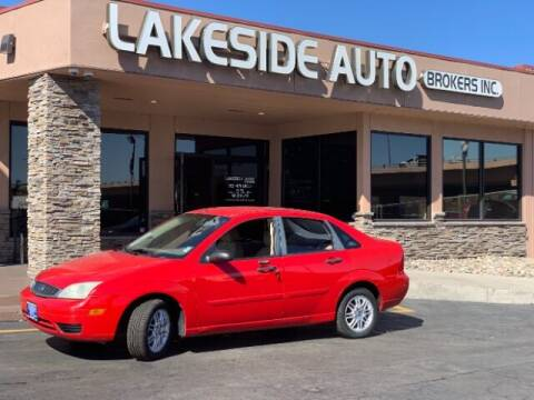 2007 Ford Focus for sale at Lakeside Auto Brokers Inc. in Colorado Springs CO