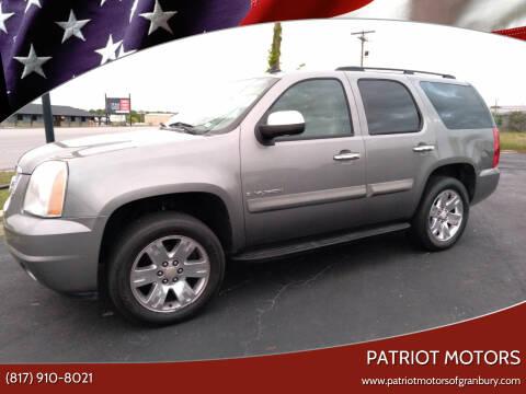 2008 GMC Yukon for sale at Patriot Motors in Granbury TX