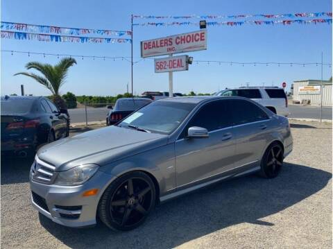 2012 Mercedes-Benz C-Class for sale at Dealers Choice Inc in Farmersville CA