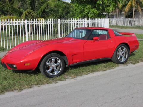 1979 Chevrolet Corvette for sale at TROPICAL MOTOR CARS INC in Miami FL