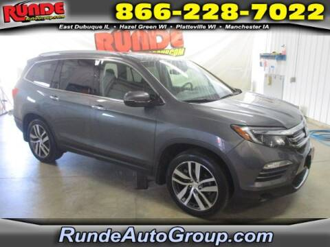 2016 Honda Pilot for sale at Runde Chevrolet in East Dubuque IL
