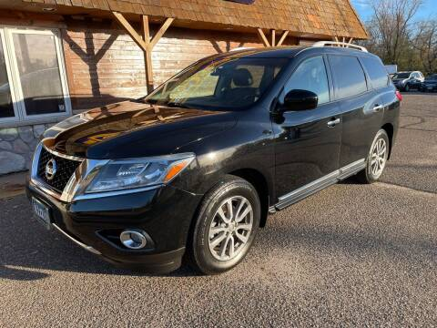 2013 Nissan Pathfinder for sale at MOTORS N MORE in Brainerd MN