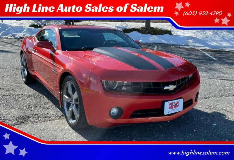 2011 Chevrolet Camaro for sale at High Line Auto Sales of Salem in Salem NH