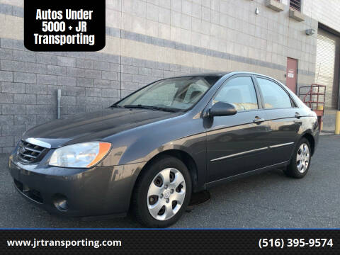2006 Kia Spectra for sale at Autos Under 5000 + JR Transporting in Island Park NY