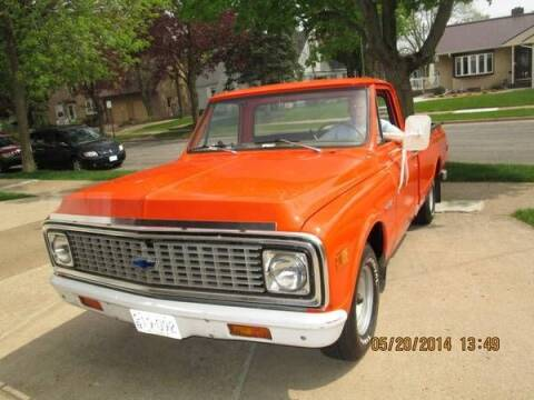 1971 Chevrolet 3100 for sale at Haggle Me Classics in Hobart IN