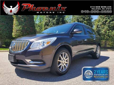 2013 Buick Enclave for sale at Phoenix Motors Inc in Raleigh NC