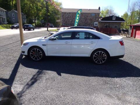 2019 Ford Taurus for sale at RJ McGlynn Auto Exchange in West Nanticoke PA