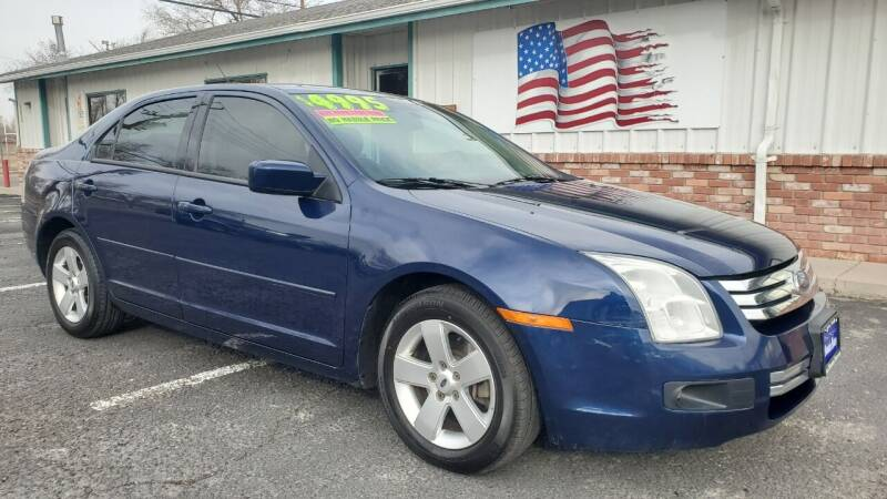 2007 Ford Fusion for sale at Sand Mountain Motors in Fallon NV
