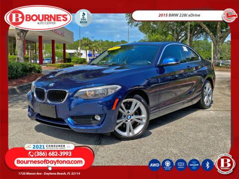 2015 BMW 2 Series for sale at Bourne's Auto Center in Daytona Beach FL