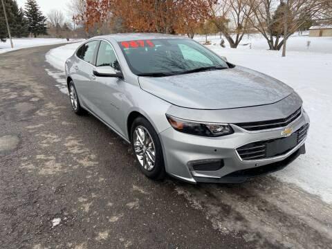 2018 Chevrolet Malibu for sale at BELOW BOOK AUTO SALES in Idaho Falls ID