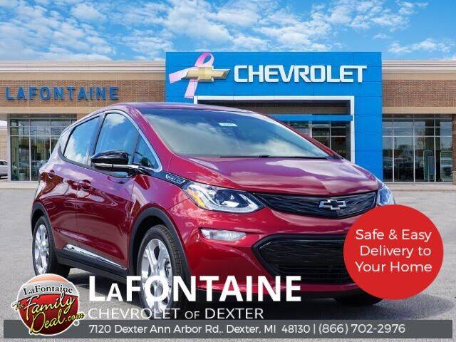 2020 Chevrolet Bolt EV for sale in Dexter, MI