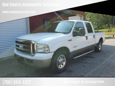 2007 Ford F-250 Super Duty for sale at One Source Automotive Solutions in Braselton GA