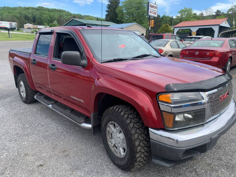 2005 GMC Canyon for sale at BURNWORTH AUTO INC in Windber PA