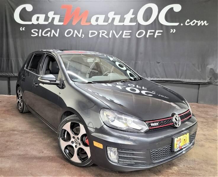 2010 Volkswagen GTI for sale at CarMart OC in Costa Mesa, Orange County CA