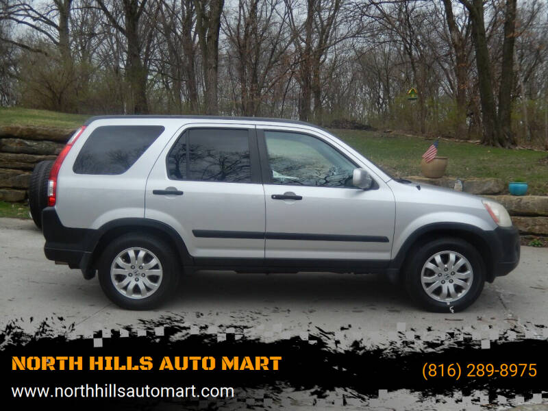 2006 Honda CR-V for sale at NORTH HILLS AUTO MART in Kansas City MO