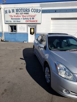 2012 Nissan Altima for sale at M&M Motors in Salt Lake City UT
