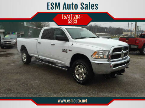 2015 RAM Ram Pickup 2500 for sale at ESM Auto Sales - Consignment in Elkhart IN