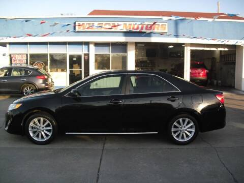 2012 Toyota Camry for sale at Wilson Motors in Junction City KS