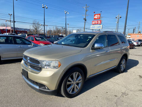 2011 Dodge Durango for sale at 4th Street Auto in Louisville KY