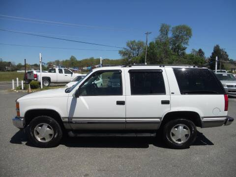 1999 Chevrolet Tahoe for sale at All Cars and Trucks in Buena NJ