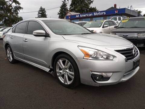 2014 Nissan Altima for sale at All American Motors in Tacoma WA